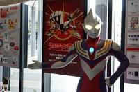 Ultraman Tiga, who debuted 25 years ago, is seen at