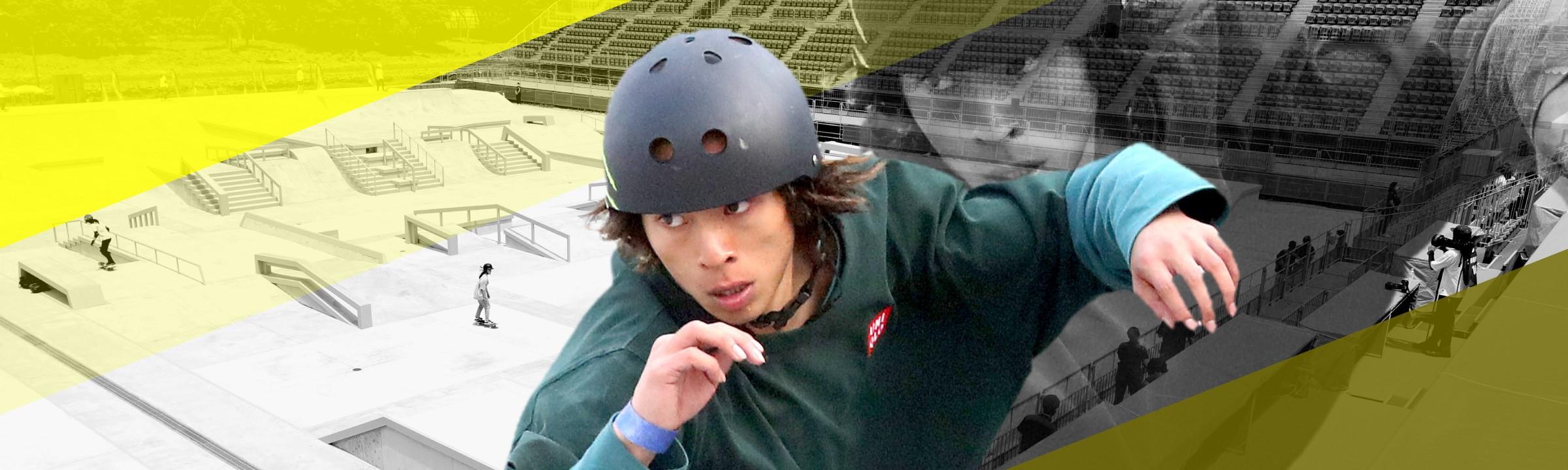 平野歩夢(スケートボード)|東京オリンピック