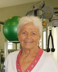 Olga Fikotova-Connolly (Photo courtesy of the author.)