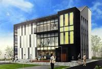 A rendering image of the Utoro peace memorial hall is seen. (Photo courtesy of the Utoro Minkan Kikin Zaidan)
