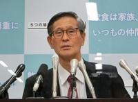 Shigeru Omi, head of the government's coronavirus countermeasures subcommittee, is seen in this photo taken in Tokyo's Chiyoda Ward on Dec. 23, 2020. (Mainichi/Keisuke Harada)