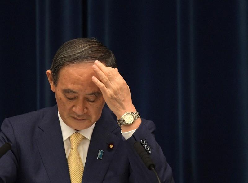 4度目の緊急事態宣言を東京に発令後、会見した菅首相