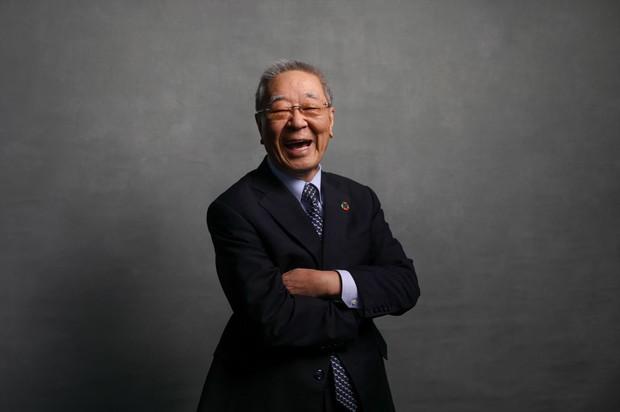 福田さんは、日立製作所の事業再構築力を高く評価し、株式を買い増した(改革を推し進めた中西宏明・元会長)Bloomberg