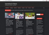 An illicit website claiming to provide free livestreams for sporting events is seen in this image provided by Trend Micro Inc.
