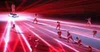 Performers dance at the opening ceremony of the Tokyo Games, at the Japan National Stadium in the capital's Shinjuku Ward on July 23, 2021. (Mainichi/Yuki Miyatake)