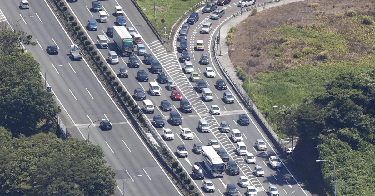Congestionamento de 40 km bloqueia a via expressa de Tóquio