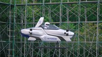 SkyDrive Inc.'s flying car SD-03 is seen undergoing multiple flight tests. (Photo Courtesy of SkyDrive Inc.)