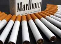 In this July 17, 2012 file photo, Marlboro cigarettes are displayed in Montpelier, Vermont. (AP Photo/Toby Talbot)