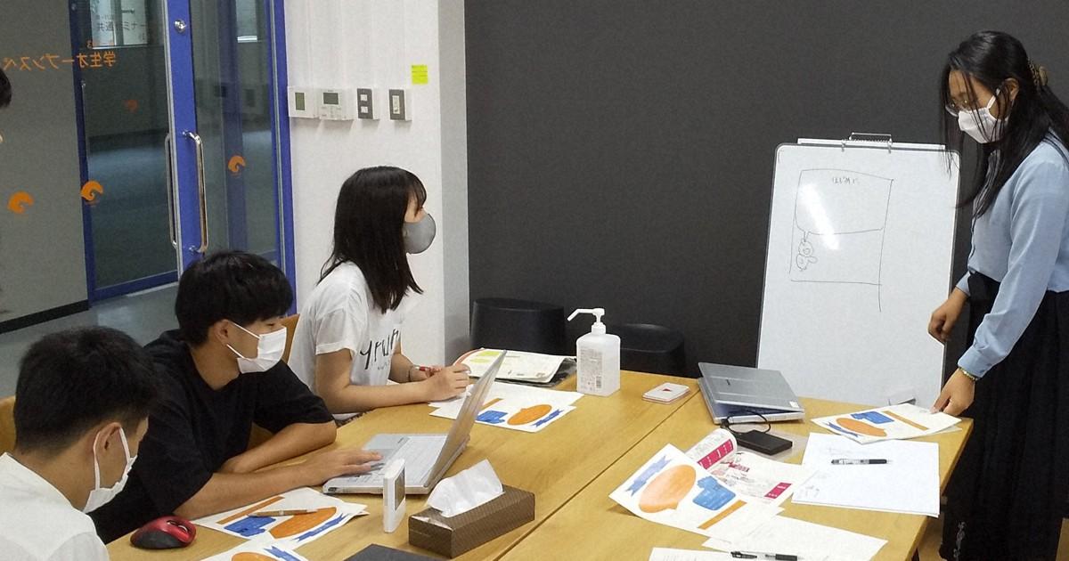 「やさしい日本語」で防災冊子製作 和歌山大生が留学生と協力   毎日新聞