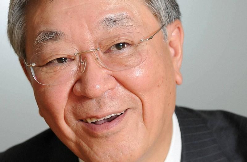 中西宏明さん=東京都千代田区で2010年12月27日、久保玲撮影