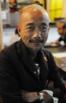 Actor Naoto Takenaka is seen in Tokyo's Setagaya Ward in this file photo. (Mainichi/Risa Baba)