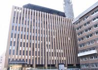 The building that houses the Yamanashi Prefectural Board of Education is seen in the city of Kofu on Nov. 19, 2020. (Mainichi/Shota Kaneko)
