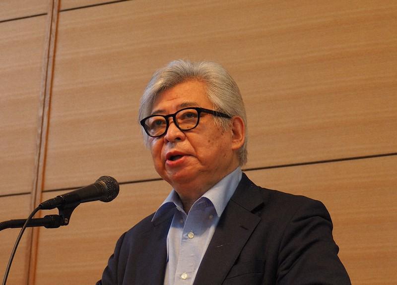 保阪正康さん=2020年6月10日、鈴木英生撮影