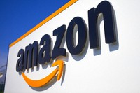 This April 16, 2020 shows the Amazon logo in Douai, northern France. Amazon on Thursday, July 29, 2021 turned in a mixed bag of results for its fiscal second quarter, coming up short of Wall Street expectations in revenue but beating on profits. (AP Photo/Michel Spingler, File)