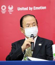 This file photo shows Toshiro Muto, the CEO of the Tokyo Olympics organizing committee. (Mainichi/Kentaro Ikushima)