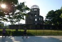 This Aug 7, 2018 file photo shows the Atomic Bomb Dome in the city of Hiroshima.(Mainichi/Yoji Hanaoka)