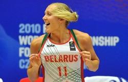 ベラルーシ代表でプレーしていたレフチェンコさん=日時不明、本人提供