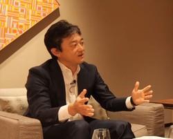 JPモルガン・アセットの中山さんは、30年ぶりに日本の地政学的な立ち位置が良くなると予想する (同社提供)