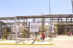 アラムコの国内天然ガス工場