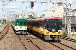 京阪電鉄は日中の特急、準急、普通の運転本数を変更