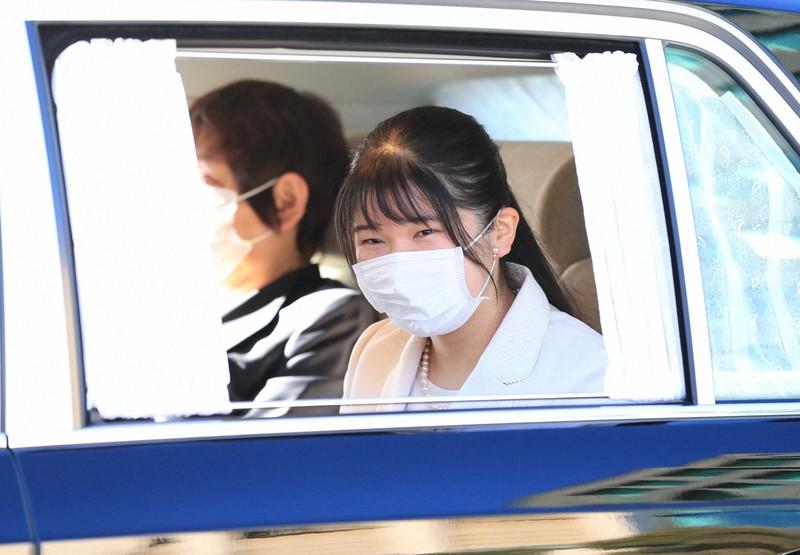 Putri Aiko, putri tertua dari Yang Mulia Kaisar dan Permaisuri, yang dapat memasuki Istana Kekaisaran = 1 Januari 2021 di Istana Kekaisaran dan Hanzomon (foto perwakilan)