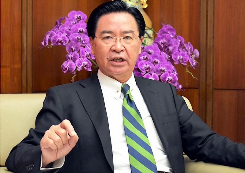 Menteri Luar Negeri Taiwan Wu Yan = Difoto oleh Shizuya Fukuoka