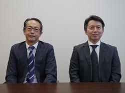 東京海上AMの「ジャパン・オーナーズ株式オープン」はオーナーの高い経営力を運用に活かす(左から中川喜久さん、吉田琢さん)