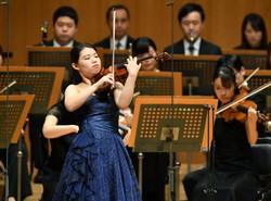 昨年(第89回)日本音楽コンクール「バイオリン部門」優勝者の北川千紗