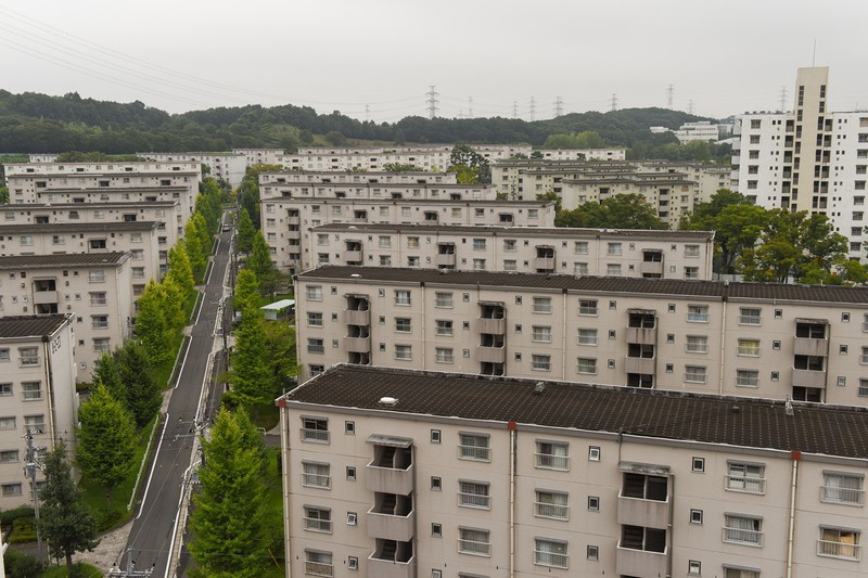 団地型マンションを対象に、新たに敷地分割事業も設けられた(本文と写真は関係ありません) (Bloomberg)