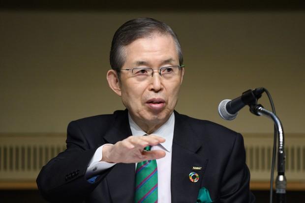 卓越した経営手腕を誇る日本電産の永守重信会長だが、「後継者問題」が最大のリスクとなる Bloomberg