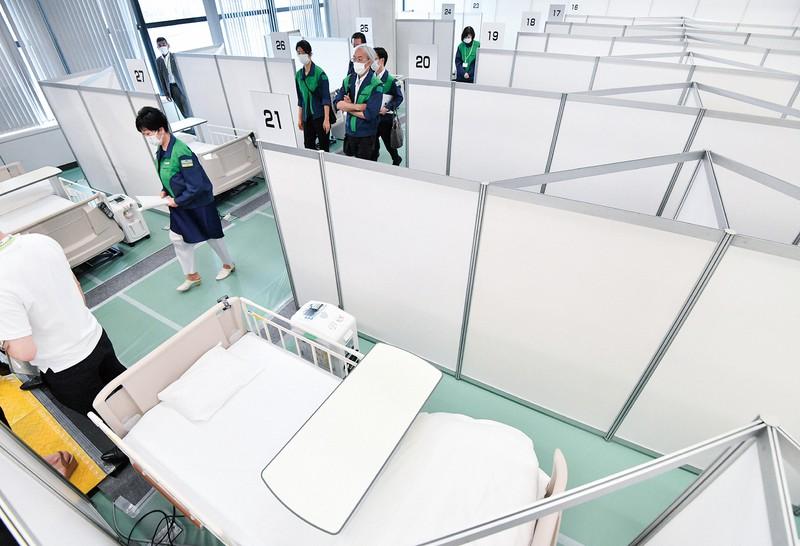 東京都は新型コロナの軽症者向けに設置された「酸素ステーション」で抗体カクテル療法を実施する方針を示した