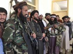 タリバンの兵士たち=アフガニスタンで2021年9月8日、AP
