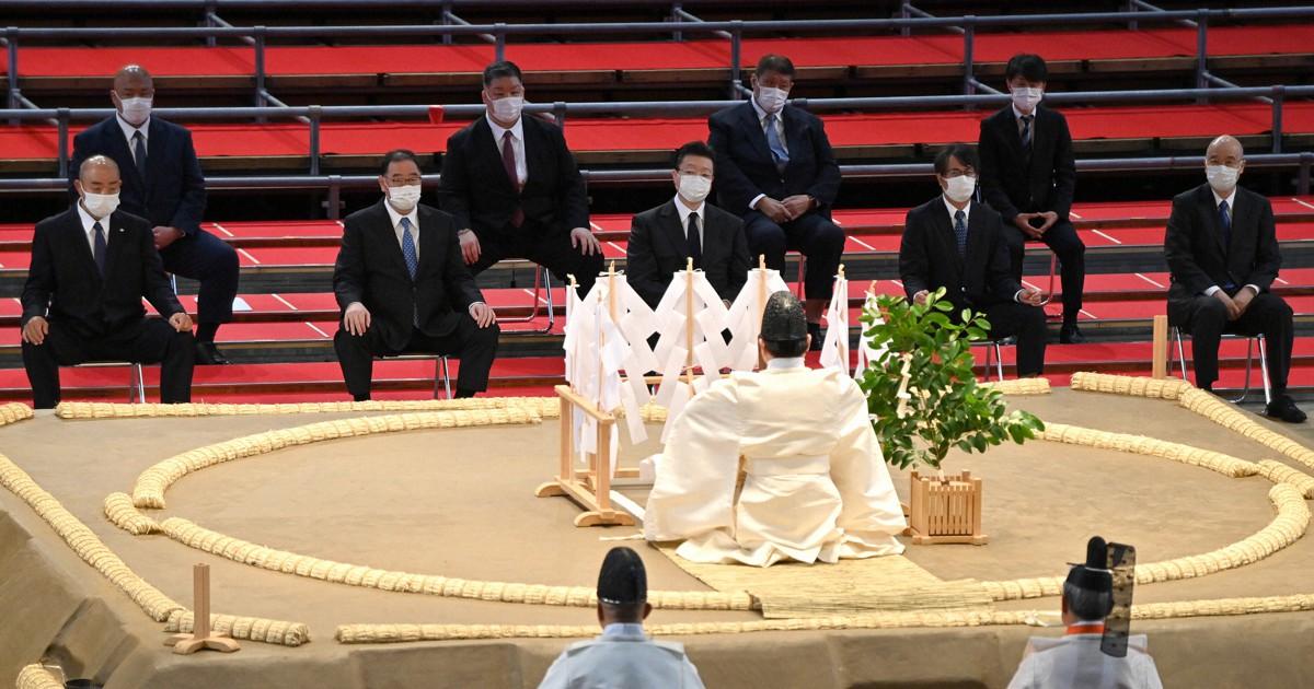 Você sabe quais são as cerimônias realizadas antes das competições de sumô?