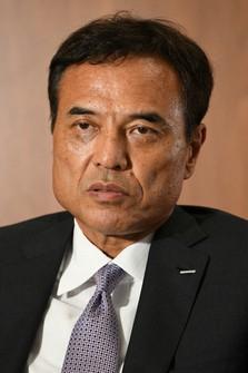 Suntory Holdings Ltd. President Takeshi Niinami (Mainichi/Emi Naito)