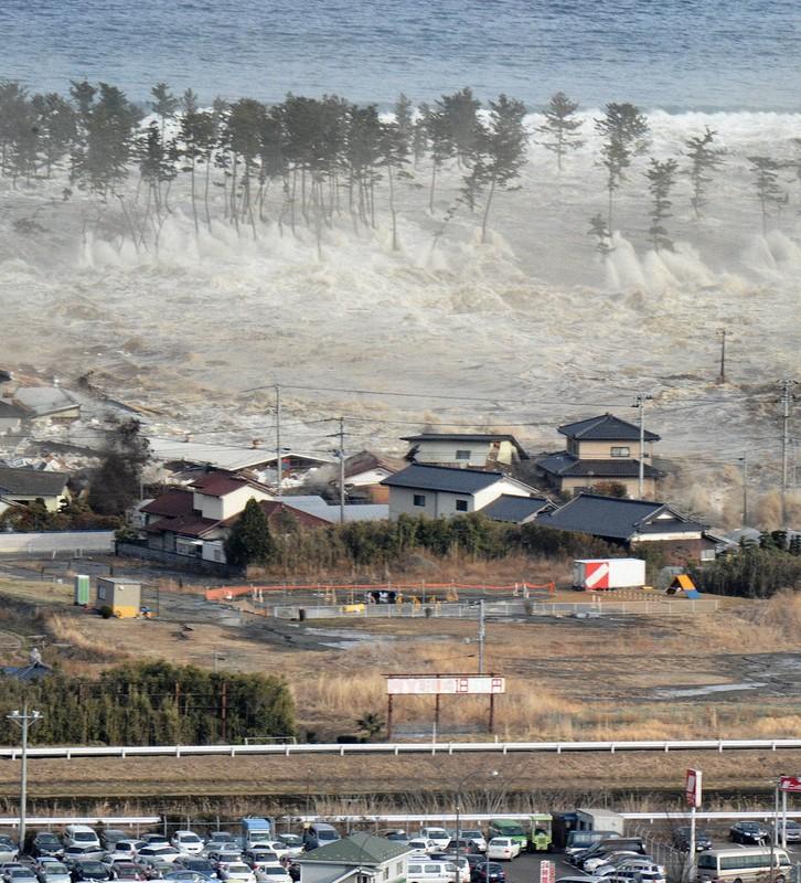 東日本大震災で沿岸部を襲った津波
