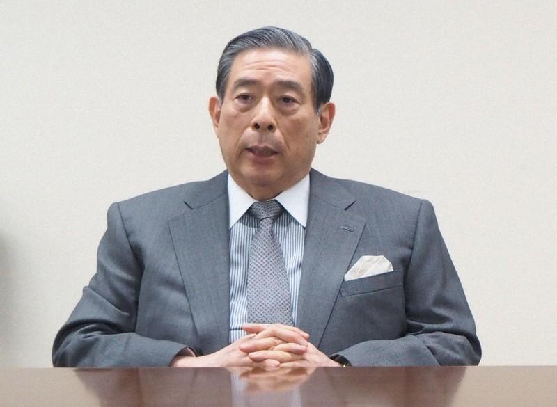 SBIホールディングスの北尾吉孝社長=東京都港区で2021年4月7日、加藤美穂子撮影