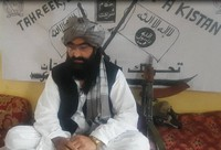 Mufti Wali Noor Mehsud, head of the Islamic militant group Pakistani Taliban (TTP),  is seen in this image provided by the TTP.