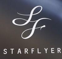 The Star Flyer Inc. logo is seen in Ota Ward, Tokyo, on May 10, 2019. (Mainichi/Kenji Yoneda)