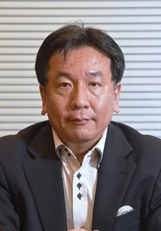 Constitutional Democratic Party of Japan leader Yukio Edano (Mainichi)