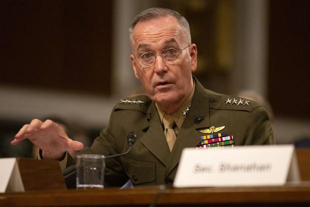 元統合参謀本部議長のジョセフ・ダンフォード将軍は兵器企業ロッキード・マーチン社の取締役に就任した Bloomberg