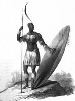 The Zulu King, Shaka (Public Domain)