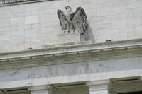 This May 4, 2021 file photo shows the Federal Reserve building in Washington. (AP Photo/Patrick Semansky)