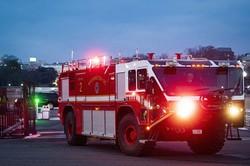 コロナ禍で消防車の需要が高まっている Bloomberg