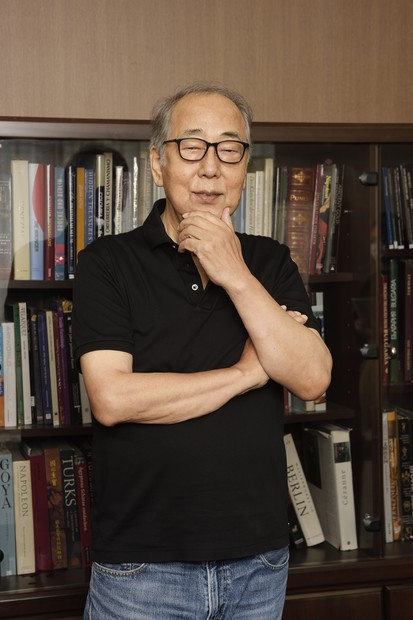 映画「総理の夫」に出演=岸部一徳・俳優/858