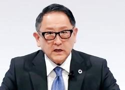 EV拡大策に異議を唱えた豊田章男会長