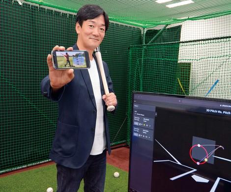 中尾信一 ネクストベース社長 ITで日本のスポーツを変える