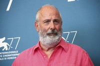 Roger Michell poses for photographers at the photo call for the film 'The Duke' during the 77th edition of the Venice Film Festival in Venice, Italy, on Sept. 4, 2020. (Photo by Joel C Ryan/Invision/AP)