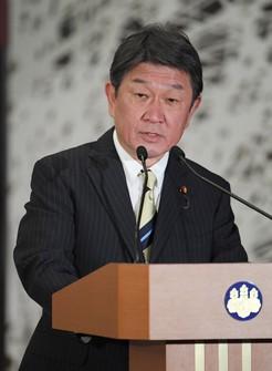 Japanese Foreign Minister Toshimitsu Motegi. (Mainichi)