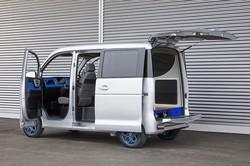 ASFは軽の商用EVで日本の先駆けとなった 同社提供