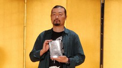 直木賞に選ばれた佐藤究さん=東京都千代田区で2021年7月14日、関雄輔撮影